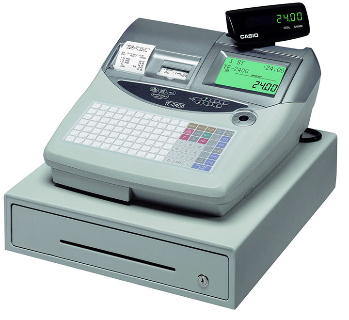 TE-2400 Cash Register