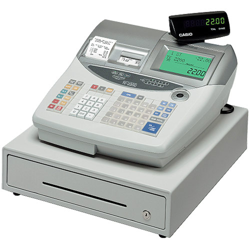Casio TE2200 Cash Register